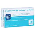 Paracetamol 500mg-1A Pharma 10 Stück N1