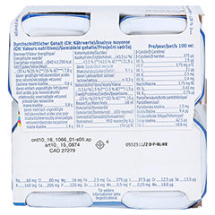 FRESUBIN 2 kcal Fibre DRINK Cappuccino Trinkfl. 4x200 Milliliter - Unterseite