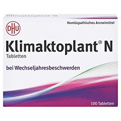 KLIMAKTOPLANT N Tabletten + gratis Klimaktoplant Fächer 100 Stück N1 - Vorderseite