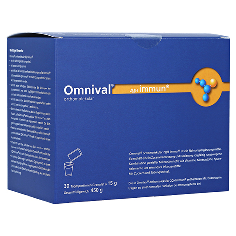 Omnival Orthomolekul 2OH Immun 30 Tagesportionen Granulat 30 Stück
