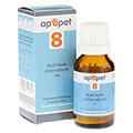 APOPET Schüßler-Salz Nr.8 Natrium chlor.D 6 vet. 12 Gramm