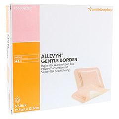 ALLEVYN Gentle Border 12,5x12,5 cm Schaumverb. 5 Stück