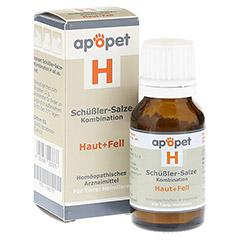 APOPET Schüßler-Salze-Kombination H ad us.vet.Gl. 12 Gramm