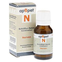APOPET Schüßler-Salze-Kombination N ad us.vet.Gl. 12 Gramm