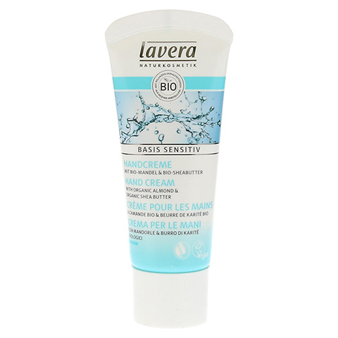 LAVERA basis sensitiv PG Handcreme dt/en/fr/it 20 Milliliter