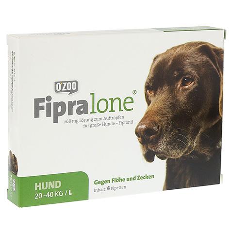 FIPRALONE 268 mg Lsg.z.Auftropf.f.große Hunde 4 Stück