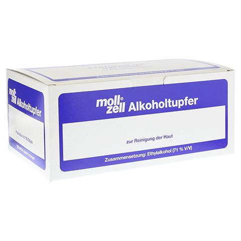 MOLL-ZELL Alkoholtupfer 100 Stück