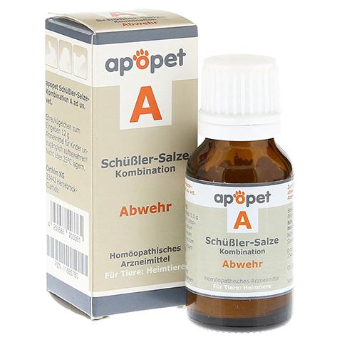 APOPET Schüßler-Salze-Kombination A ad us.vet.Gl. 12 Gramm