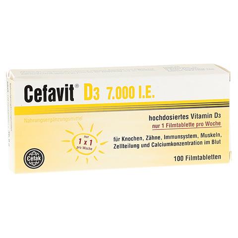 CEFAVIT D3 7.000 I.E. Filmtabletten 100 Stück