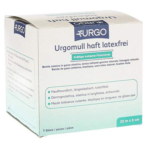 URGOMULL haft latexfrei 8 cmx20 m 1 Stück