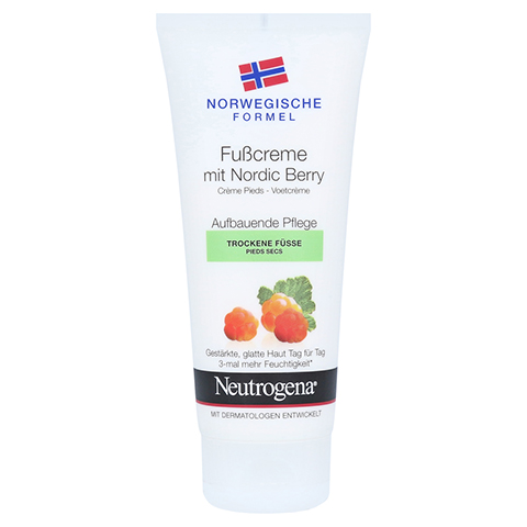 NEUTROGENA norweg.Formel Fußcreme m.Nordic Berry 100 Milliliter