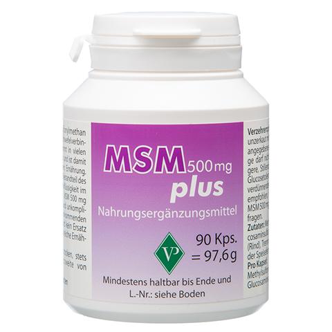MSM 500 mg plus Kapseln 90 Stück
