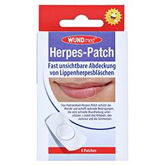 HERPES PATCH hydrokolloid 6 Stück - Vorderseite