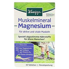 KNEIPP Muskelmineral Magnesium Tabletten 30 Stück - Vorderseite