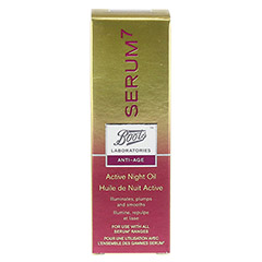 BOOTS LAB SERUM7 Active Night Oil 30 Milliliter - Vorderseite