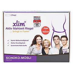 XLIM Aktiv Mahlzeit Riegel Schoko-Müsli 6x56 Gramm - Vorderseite