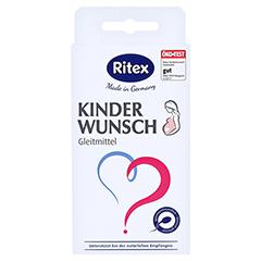 RITEX Kinderwunsch Gleitmittel Gel 8x4 Milliliter - Vorderseite