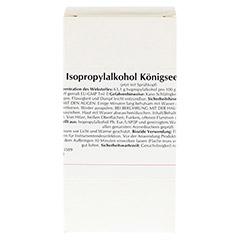 ISOPROPYLALKOHOL Königseer Biozid 100 Milliliter - Vorderseite