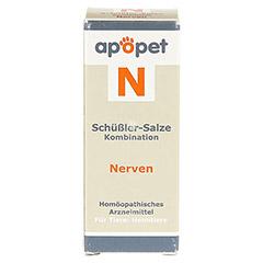 APOPET Schüßler-Salze-Kombination N ad us.vet.Gl. 12 Gramm - Vorderseite