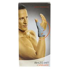 RHIZO-HIT Daumenorthese Gr.S platinum 07610 1 Stück - Vorderseite