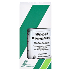 WIRBEL Komplex L Ho-Fu-Complex Tropfen 30 Milliliter - Vorderseite