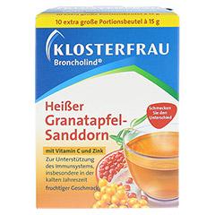 KLOSTERFRAU Broncholind heißer Granatapfel-Sandd. 10x15 Gramm - Vorderseite