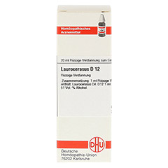 LAUROCERASUS D 12 Dilution 20 Milliliter N1 - Vorderseite