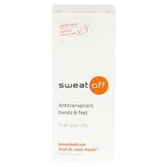 SWEAT OFF Antitranspirant hands & feet 30 Milliliter - Vorderseite