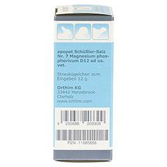 APOPET Schüßler-Salz Nr.7 Magnesium phos.D 12 vet. 12 Gramm - Linke Seite