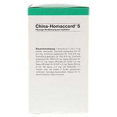 CHINA HOMACCORD S Ampullen 100 Stück N3 - Linke Seite