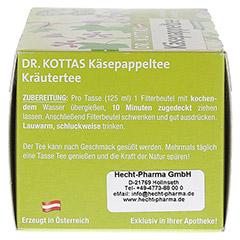 DR.KOTTAS Käsepappeltee Filterbeutel 20 Stück - Linke Seite