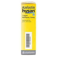 Azelastin hysan 1mg/ml 10 Milliliter N1 - Rechte Seite