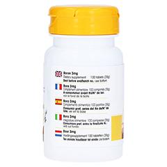 BOR 3 mg Tabletten 100 Stück - Rechte Seite