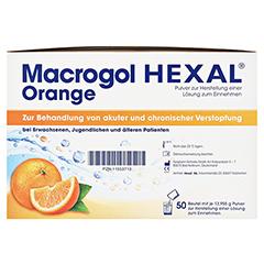MACROGOL HEXAL Orange Plv.z.Her.e.Lsg.z.Einn.Btl. 50 Stück - Rechte Seite