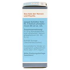 APOPET Schüßler-Salz Nr.5 Kalium phos.D 6 vet. 12 Gramm - Rechte Seite