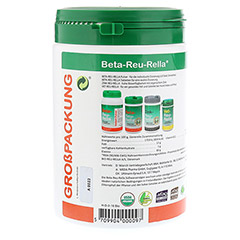 BETA REU RELLA Süßwasseralgen Tabletten 2000 Stück - Rechte Seite
