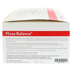 FLOSA Balance Pulver Beutel 100x5.5 Gramm - Rechte Seite