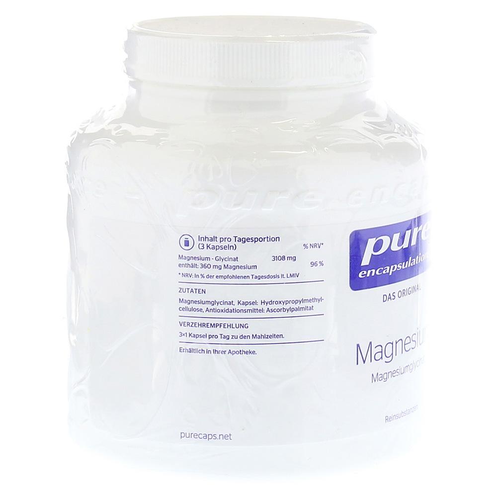 testbericht magnesium pure encapsulations magn glycinat kaps