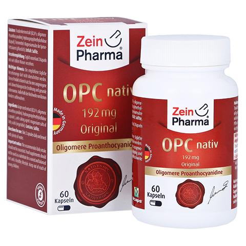 OPC Nativ Kapseln 192 mg reines OPC 60 Stück