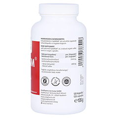 Optimsm 1000 mg Kapseln 120 Stück - Linke Seite