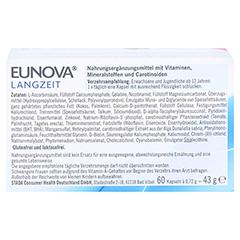 Eunova Langzeit Kapseln 60 Stück - Rückseite