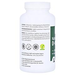 Natural D-mannose 500 mg Kapseln 160 Stück - Linke Seite