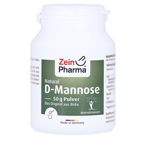 Natural D-Mannose Pulver 50 Gramm