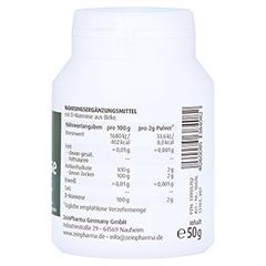 Natural D-Mannose Pulver 50 Gramm - Rechte Seite