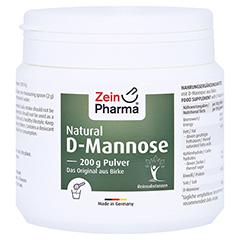 Natural D-Mannose Pulver 200 Gramm