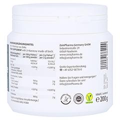 Natural D-Mannose Pulver 200 Gramm - Rechte Seite