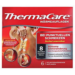 THERMACARE Wärmeauflagen bei punktuellen Schmerzen 6 Stück - Vorderseite