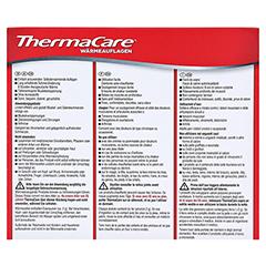 THERMACARE Wärmeauflagen bei punktuellen Schmerzen 6 Stück - Rückseite