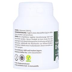 Natural D-Mannose Pulver 50 Gramm - Linke Seite