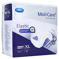 MOLICARE Premium Elastic Slip 9 Tropfen Gr.XL 14 Stück